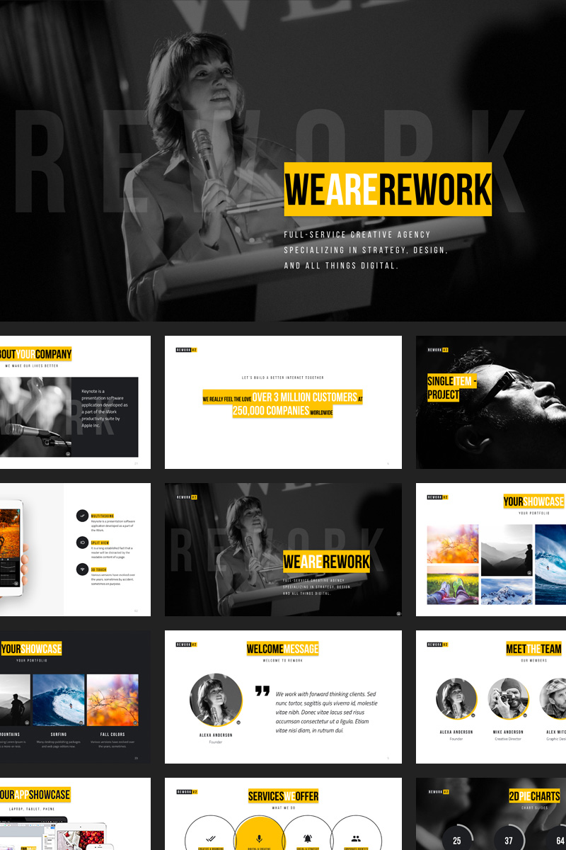 Rework PowerPoint Template