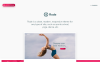 "Tema WooCommerce Responsive #74421 ""Rode - Yoga, Sport"" Screenshot grande"