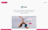 "Tema WooCommerce Responsive #74421 ""Rode - Yoga, Sport"""