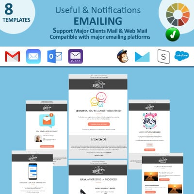 Useful Notifications Email Newsletter Template 74482