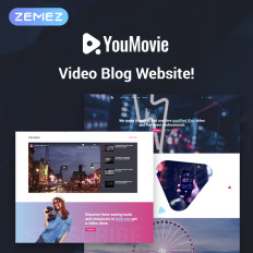Youmovie Videography Elementor Movie Wp Template