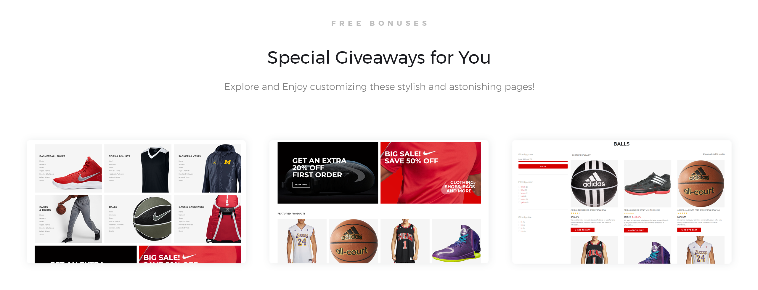 Website Design Template 74509 - shop store balls design pants shipping newsletter goods