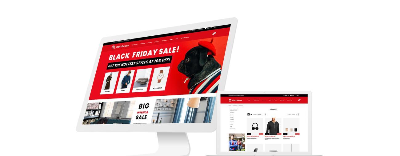 Website Design Template 74540 - store wholesaleundefined