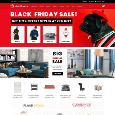 Купить  пофессиональные Shopify шаблоны. Купить шаблон #74540 и создать сайт.