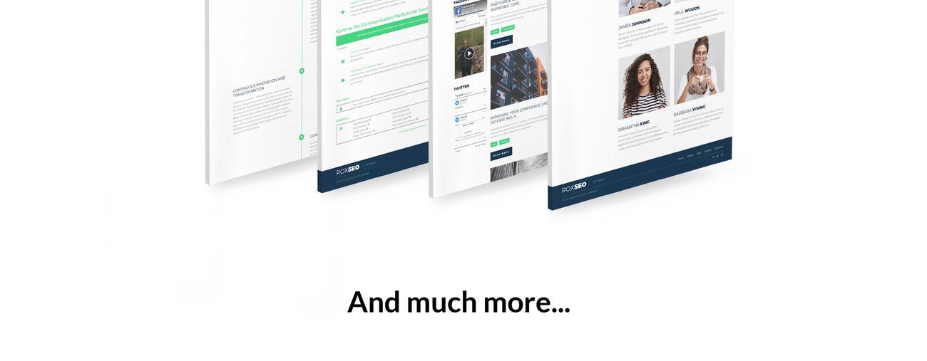 Website Design Template 74544 - joomla marketingundefined