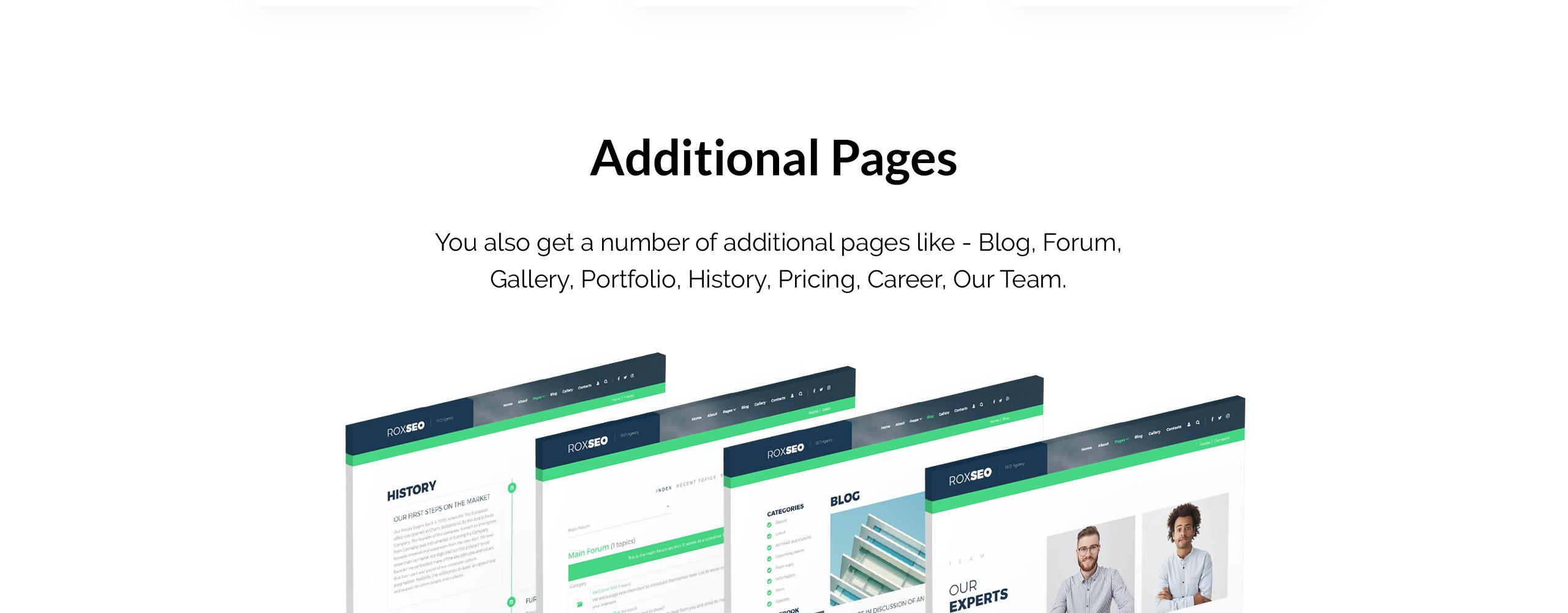 Website Design Template 74544 - marketingundefined