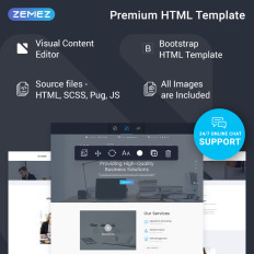 consult corporate ready to use bootstrap website theme 74541
