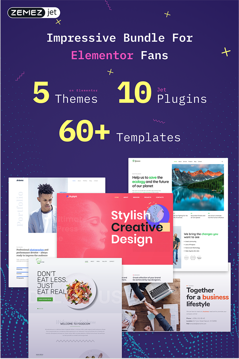 Elementor WordPress Bundle 74598 - képernyőkép