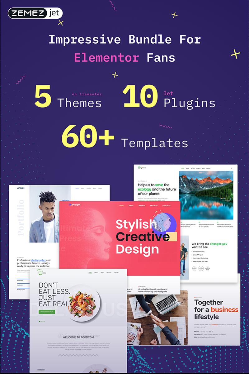 Elementor WordPress №74598 - скриншот