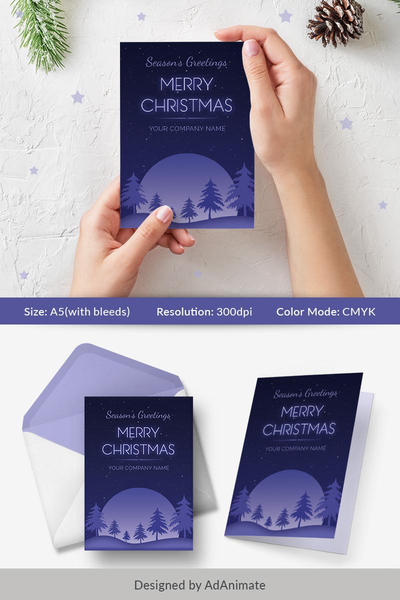 "PSD Vorlage namens ""Season's Greeting Card - Christmas Special"" #74570"