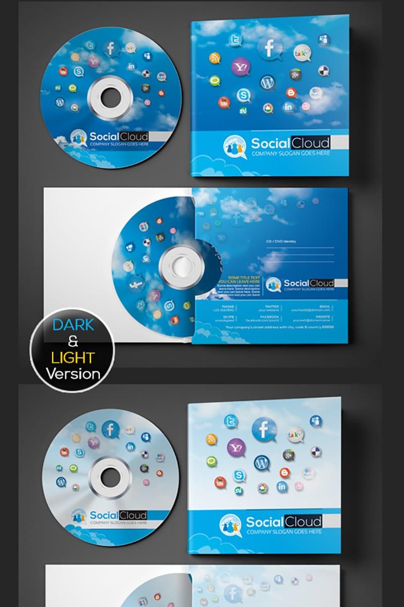 Szablon PSD Social Media CD and DVD Case | Cover Design #74550