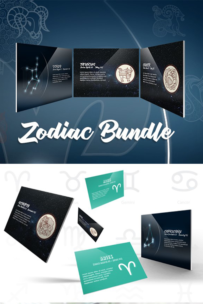 Zodiac Bandal Template PowerPoint №74542