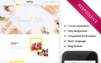 Giftg - The Gift Shop Responsive OpenCart Template