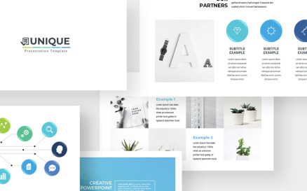 Clean Simple PowerPoint template PowerPoint Template