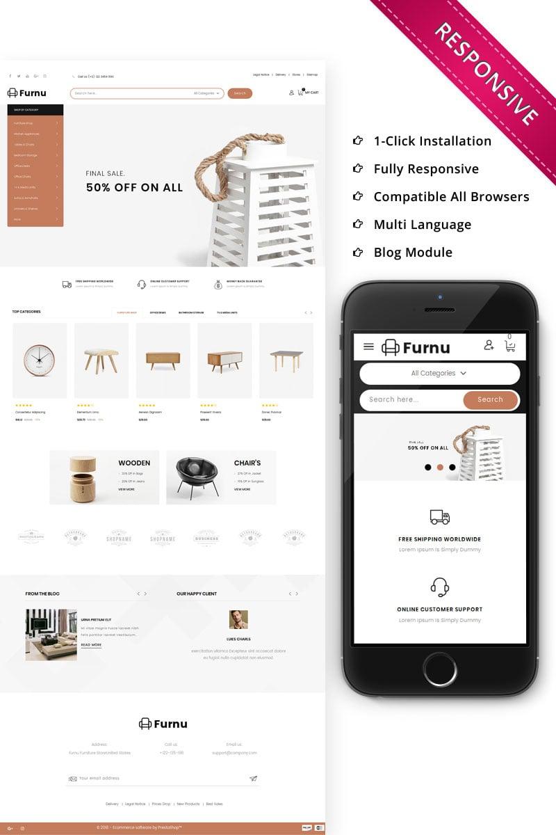 Furnu - The Furniture Store Responsive №74648 - скриншот
