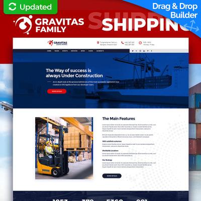 Flexível templates de Landing Page  №74689 para Sites de Empresa de Mudança