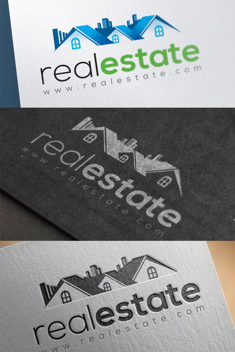 """Plantilla De Logotipo """"Real Estate"""" #74639"""