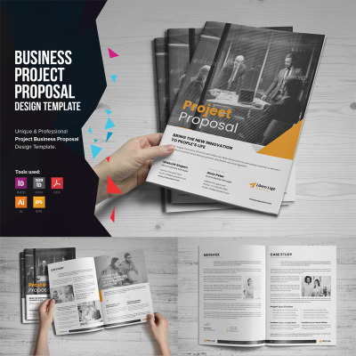 Project Business Proposal Corporate Identity Template #74607