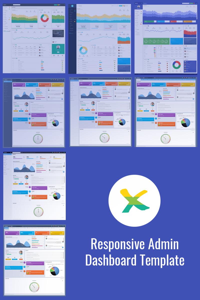 Reszponzív Xperia - Bootstrap Dashboard Admin sablon 74674