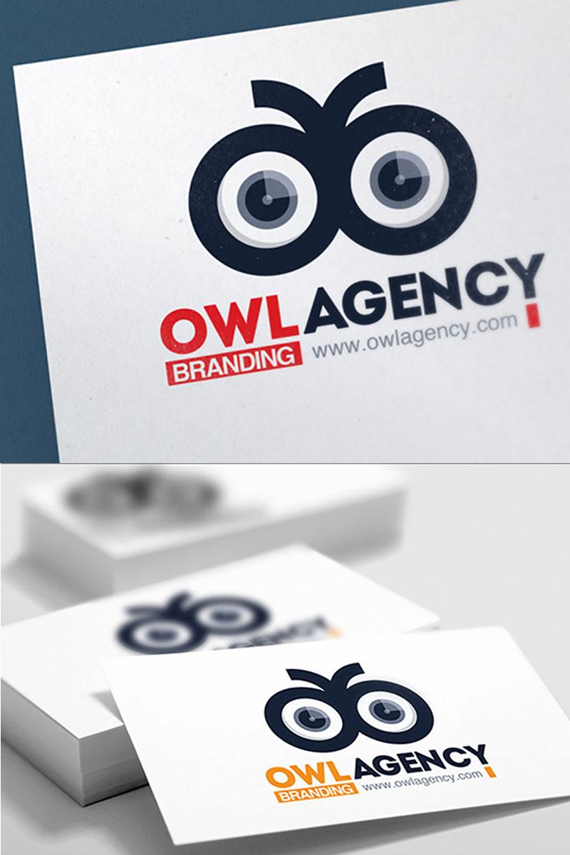 Szablon Logo Bird Eye #74640