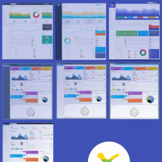 68 Admin Templates   Bootstrap Dashboard Themes   Template Monster