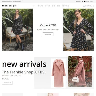 Купить  пофессиональные Shopify шаблоны. Купить шаблон #74702 и создать сайт.