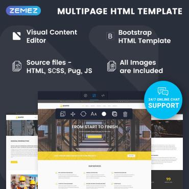 Купить  пофессиональные Bootstrap и html шаблоны. Купить шаблон #74790 и создать сайт.