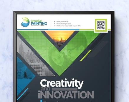 Creative Business Flyer Design PSD Template