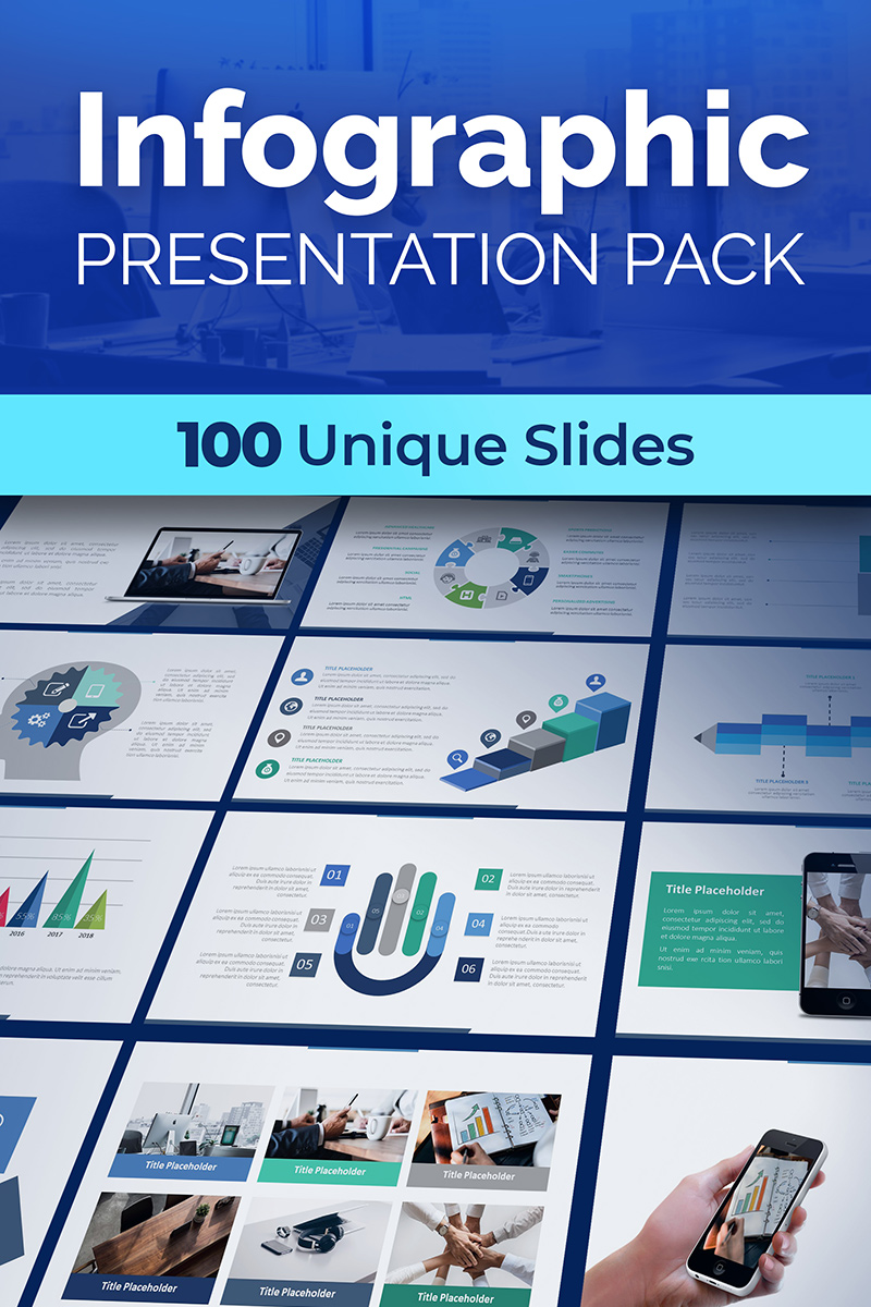 Infographic Presentation Pack PowerPoint Template
