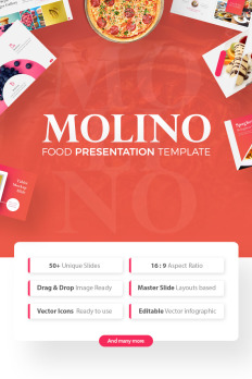 Food Ppt Powerpoint Templates Templatemonster