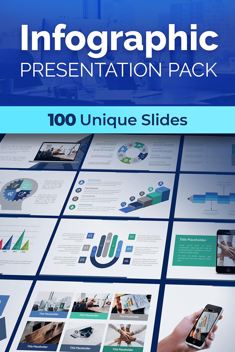 "Tema PowerPoint #74757 ""Infographic Presentation Pack"" - screenshot"