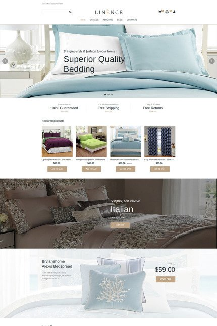 Website Design Template 74816 - material