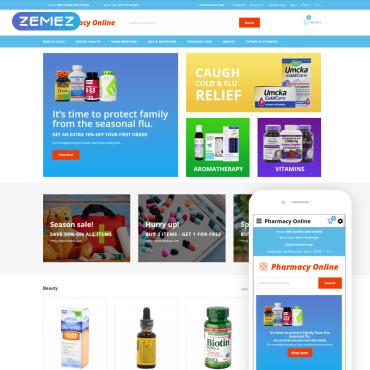Купить  пофессиональные OpenCart шаблоны. Купить шаблон #74836 и создать сайт.