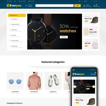 Купить  пофессиональные Magento темы. Купить шаблон #74852 и создать сайт.