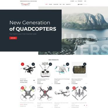 Купить  пофессиональные Shopify шаблоны. Купить шаблон #74855 и создать сайт.
