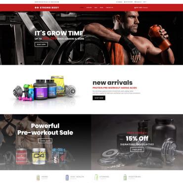 Купить  пофессиональные Shopify шаблоны. Купить шаблон #74859 и создать сайт.