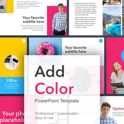 how to add standard colours to powerpoint