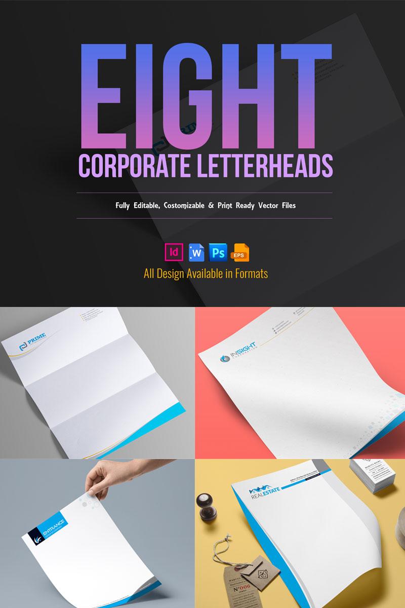 Corporate Letterhead Pack №74867 - скриншот
