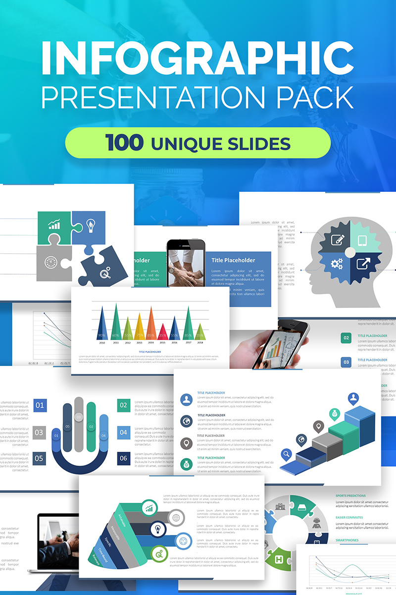 Infographic Pack For Presentations Keynote Template