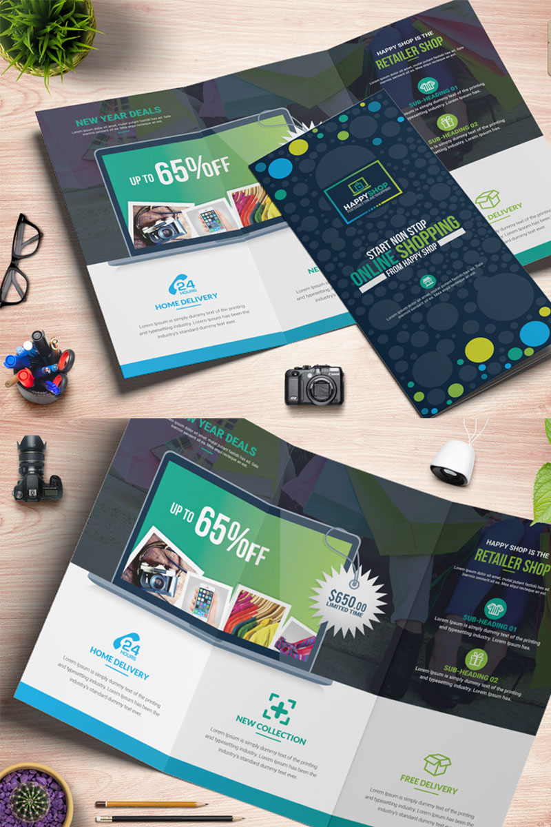 Product Brochure Corporate Identity Template