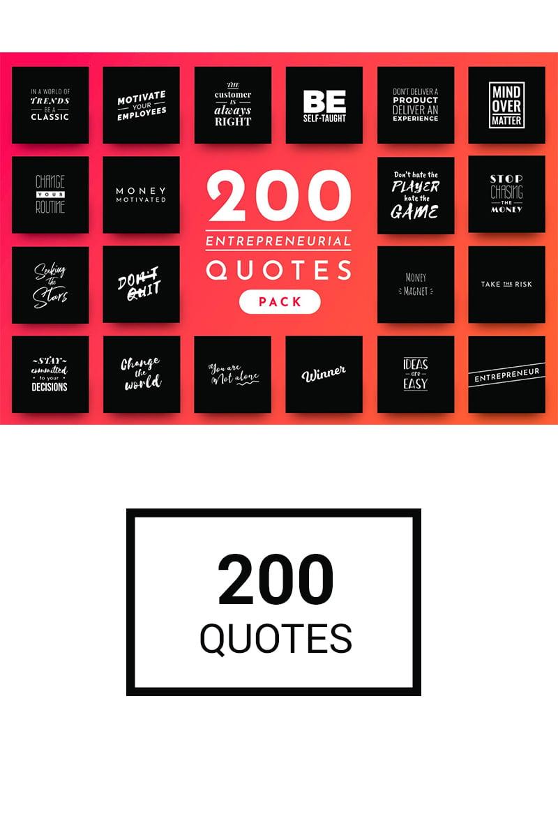 200 Ready-to-Use Entrepreneurial Quotes Social Media - screenshot
