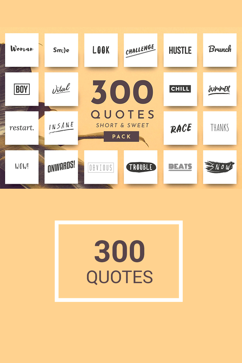 300 Ready-to-use Single Word Quotes Social Media