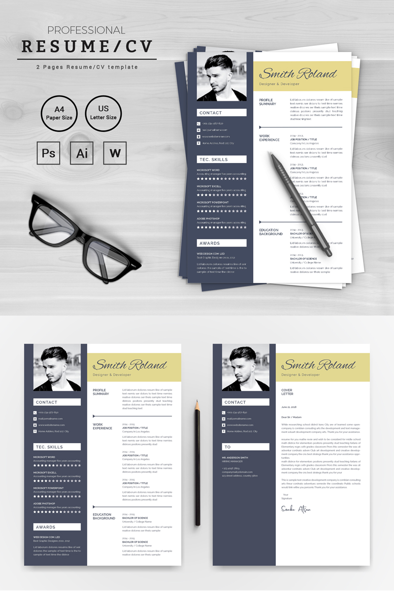 Smith Roland Resume Template Resume Template