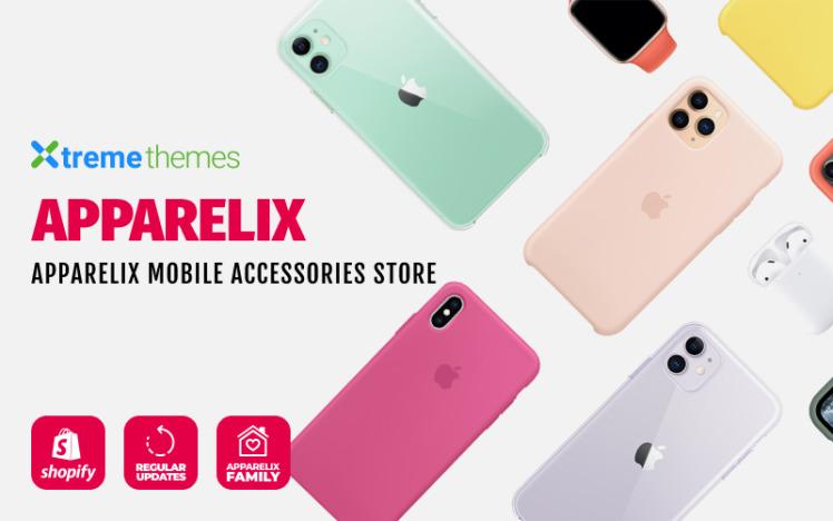 Apparelix Mobile Accessories Shopify Theme