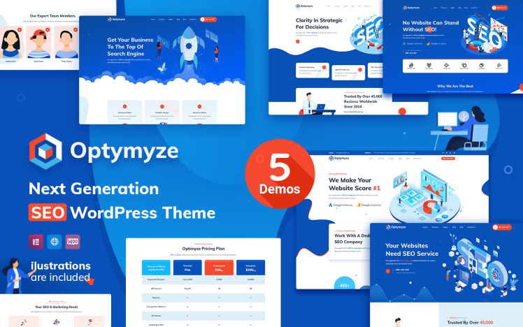 Optymyze SEO WordPress Theme