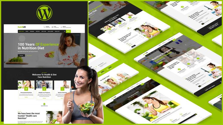 Nutralift Wellness Nutritionist WordPress Theme