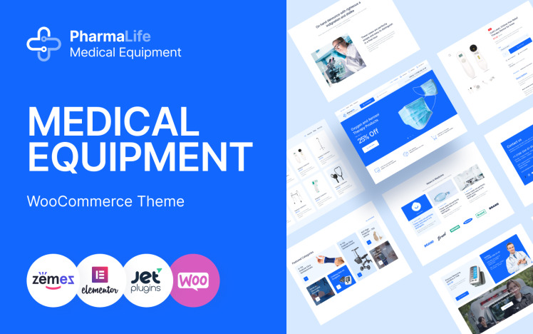 PharmaLife Pharmacy WooCommerce WordPress Responsive Theme WooCommerce Theme