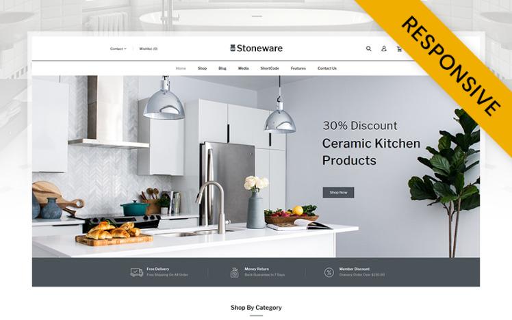 Stoneware Ceramic Store WooCommerce Theme