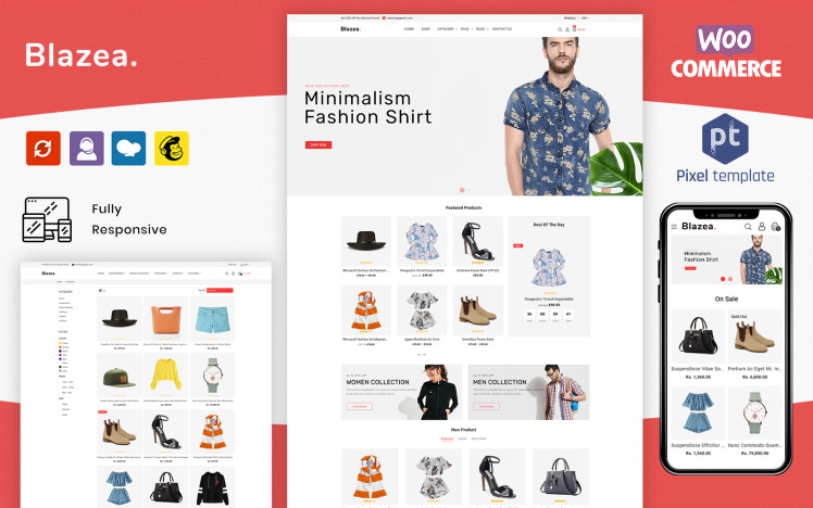 Blazea MultiPurpose Fashion Store WooCommerce Theme
