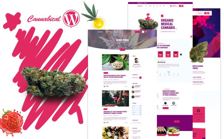 Cannabical Recreational Cannabis WordPress Theme